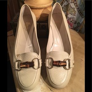 Gucci loafers in Gesso